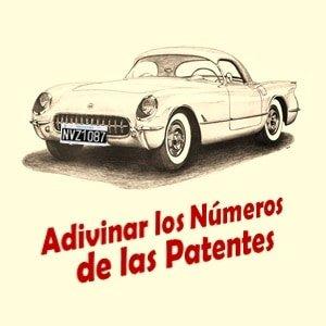 Adivinar los Números de las Patentes